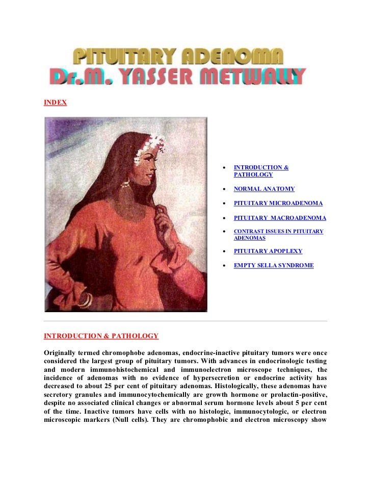 Topic of the month: Radiological pathology of of pituitary adenoma