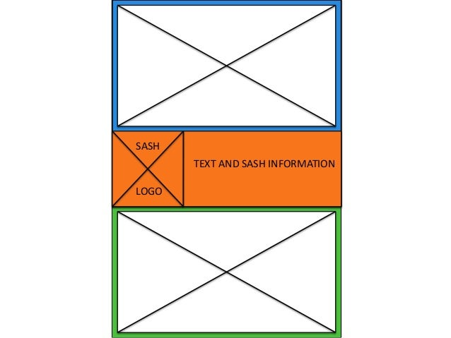 TEXT AND SASH INFORMATION SASH LOGO