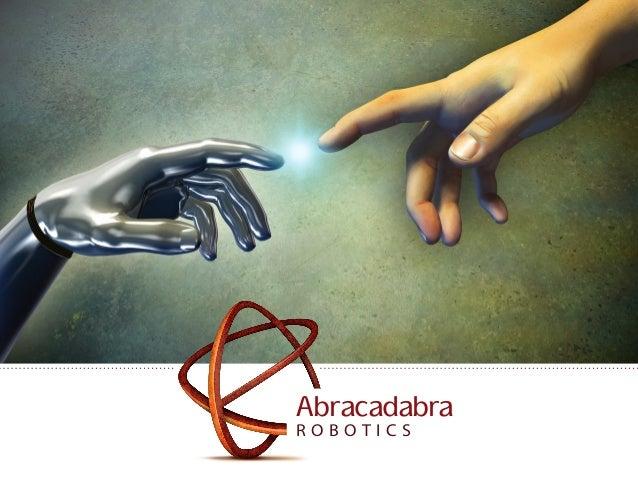 Abracadabra Robotics Pitch