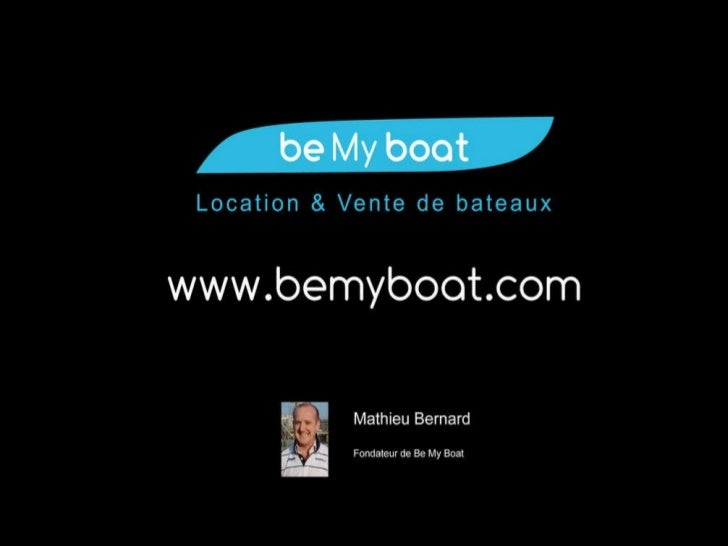 Pitch - Be My Boat - Web2Day
