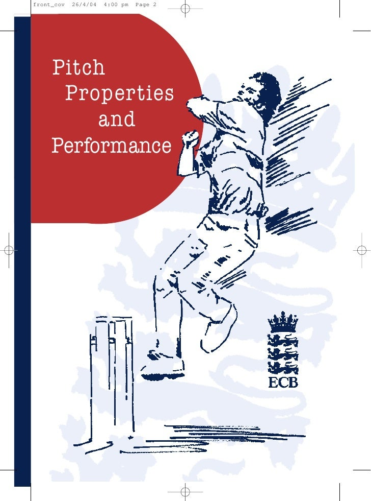 Pitch Properties And Performance 315