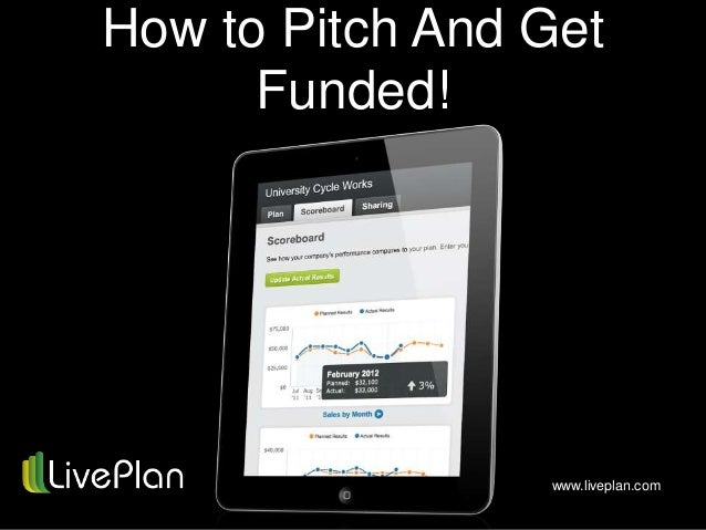 How to Pitch and Get Funded