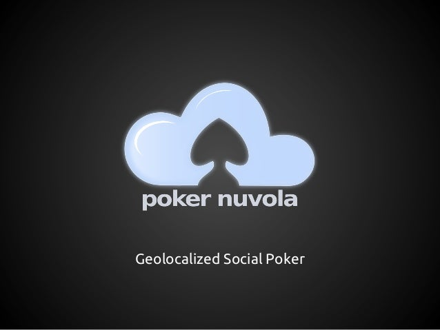 Poker Nuvola Pitch Deck