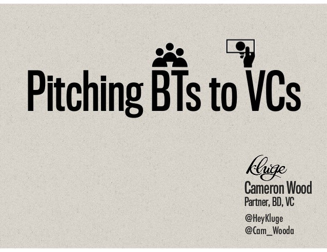 Pitching Balanced Teams to VCs