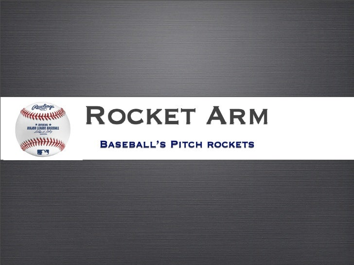 Rocket Arm Baseball's Pitch rockets