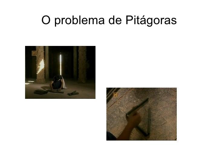 O problema de Pitágoras