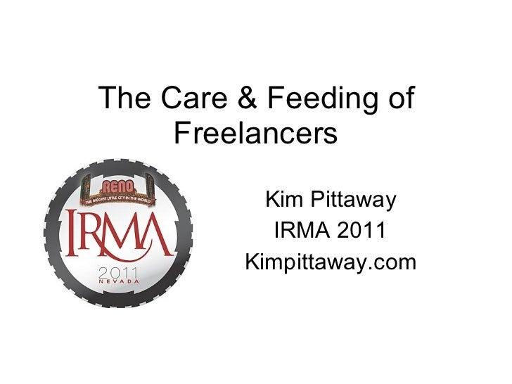The Care & Feeding of Freelancers