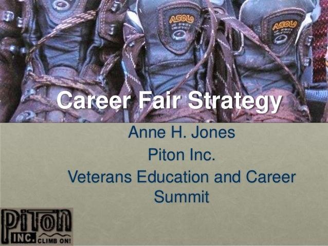 Mastering a Career Fair