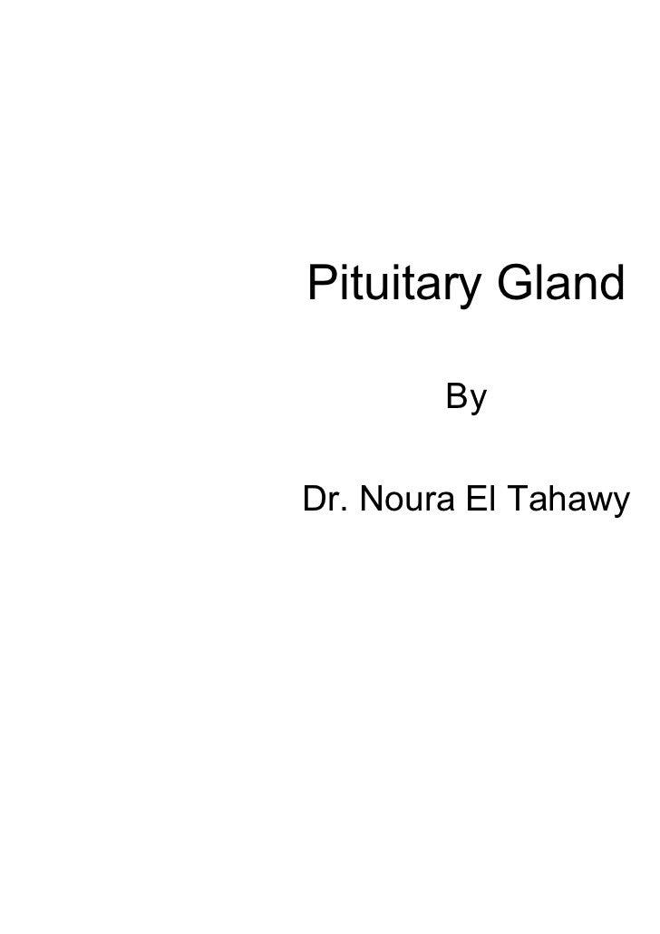 Pituitary Gland        ByDr. Noura El Tahawy