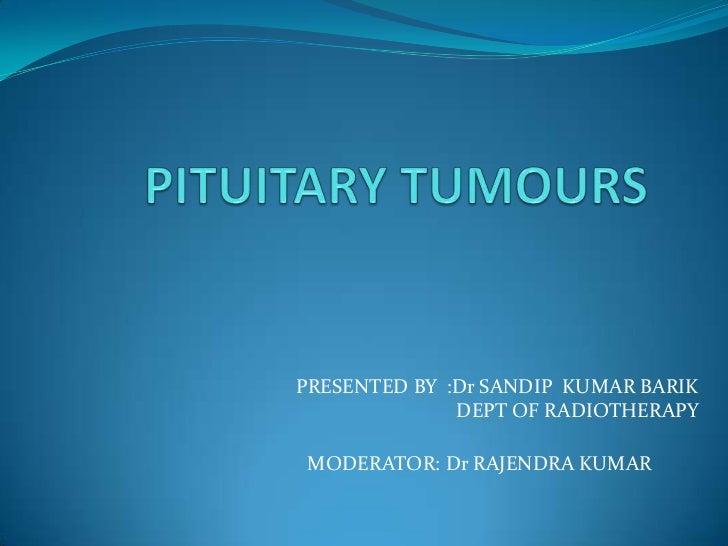 Pituitary tumours