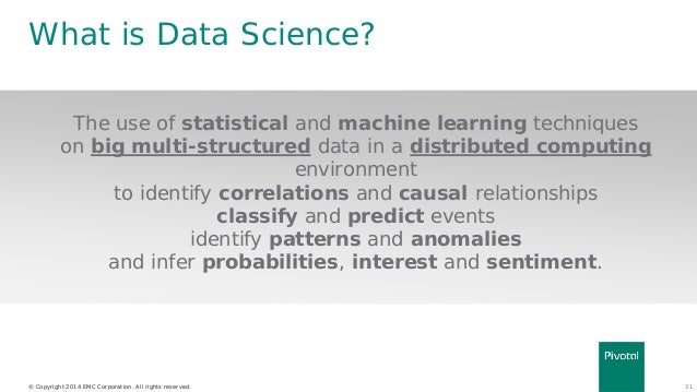 Science Data Book What is Data Science