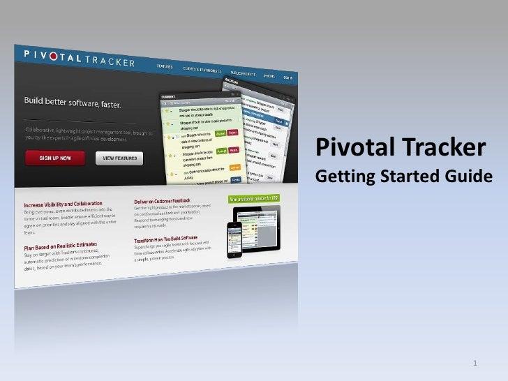 Pivotal Tracker - Quick Start Guide