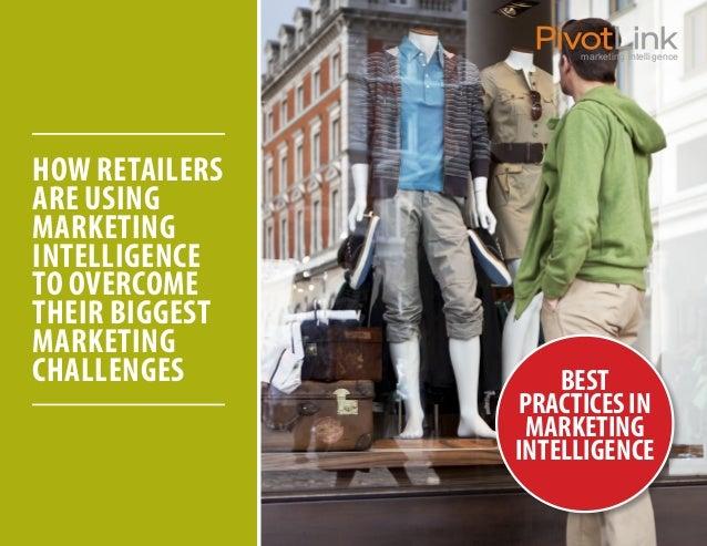 PivotLink_Best Practices in Marketing Intelligence