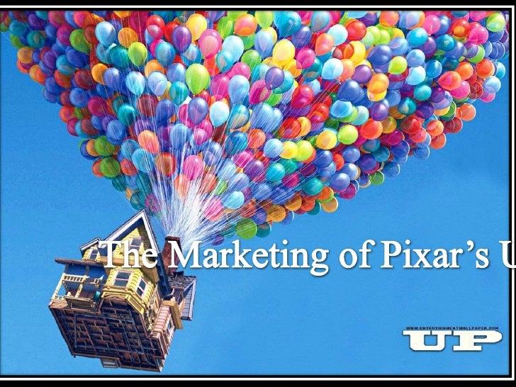 Pixar up marketing