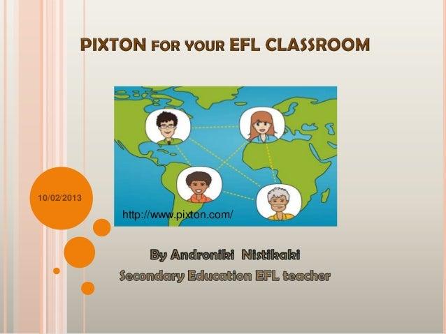 Pixton for your efl classroom