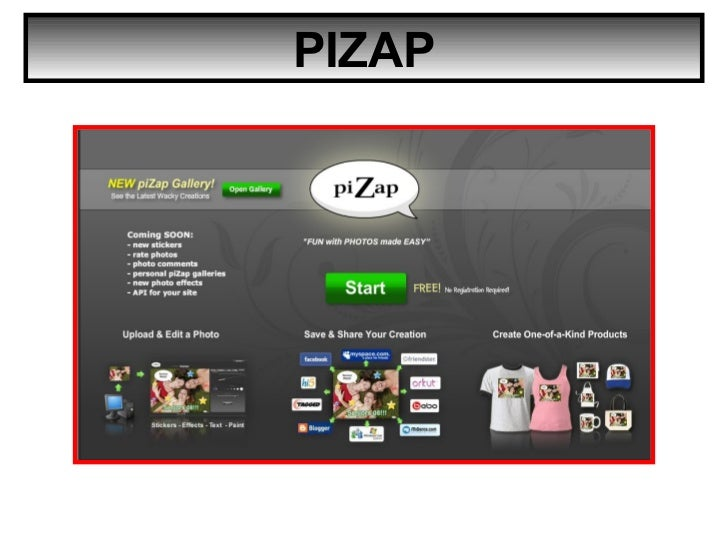 How to use Pizap