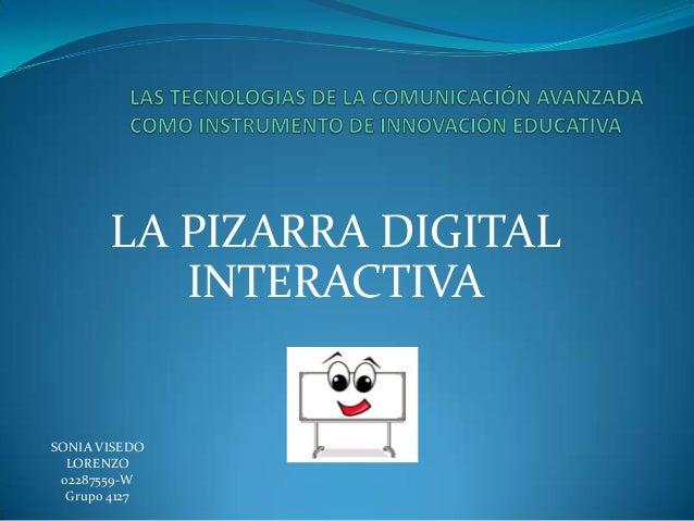 Pizarra digital interactiva  sv