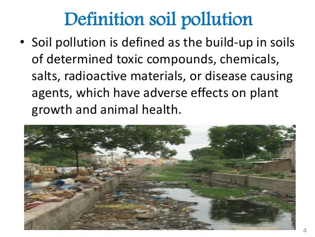 Soil pollution in bangladesh for Land and soil resources definition