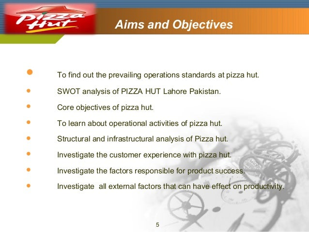 external factor impacting pizza hut Factors affecting the four functions of management numerous factors impact the four functions of management the functions of management include: planning, organizing, leading, and controlling key components include: external, internal, globalization, technology, innovation, diversity, and ethics.
