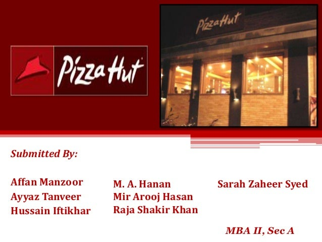 pizza hut marketing research report Market research publisher packaged facts confirmed similar growth: retail  with  arguably more purposed positioning than domino's, pizza hut made  specialty  gloves, parchment paper, ingredient kits, and pizza cutters.