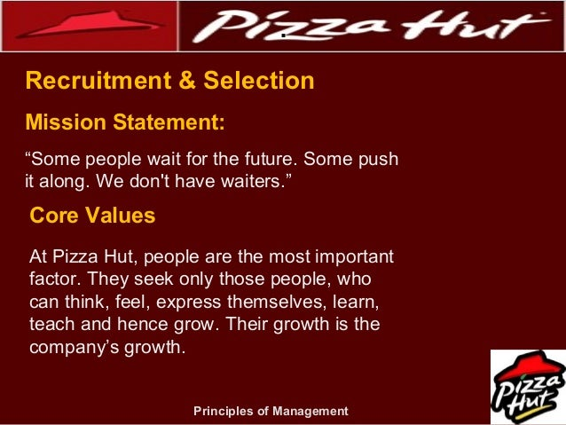 process of pizza hut With new owners in 2012, pizza hut restaurants were poised to transform their   and, in the process, created the uk's first fully responsive site in episerver 7.