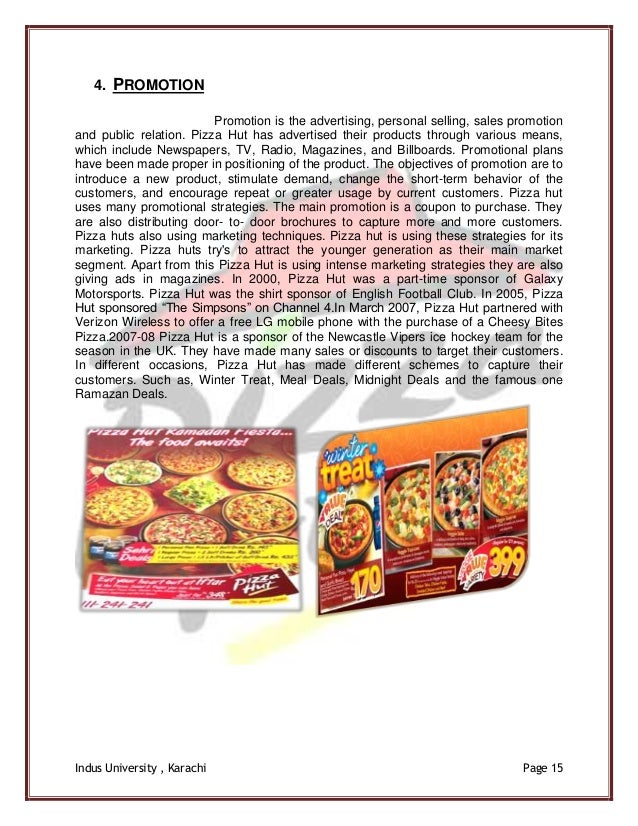 marketing objectives for pizza The objective of pizza hut may vary as per what are the aims & objectives of pizza hut up with tactical campaigns and resourceful marketing that delivers.