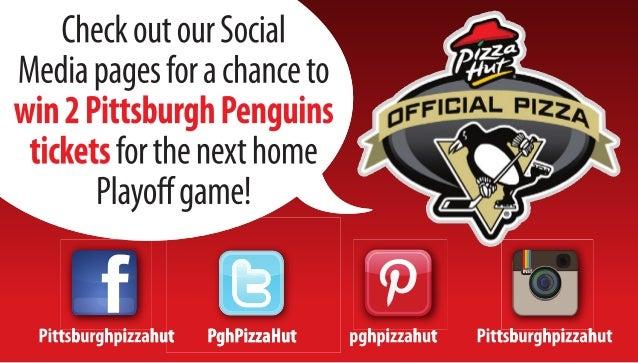 Pizza Hut Social Media Business Card