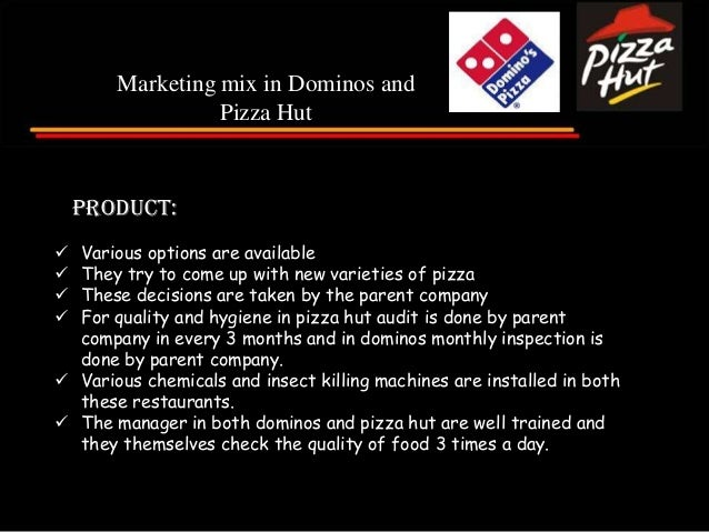 Dominoz Pizza – 7 Ps of Service Marketing Paper
