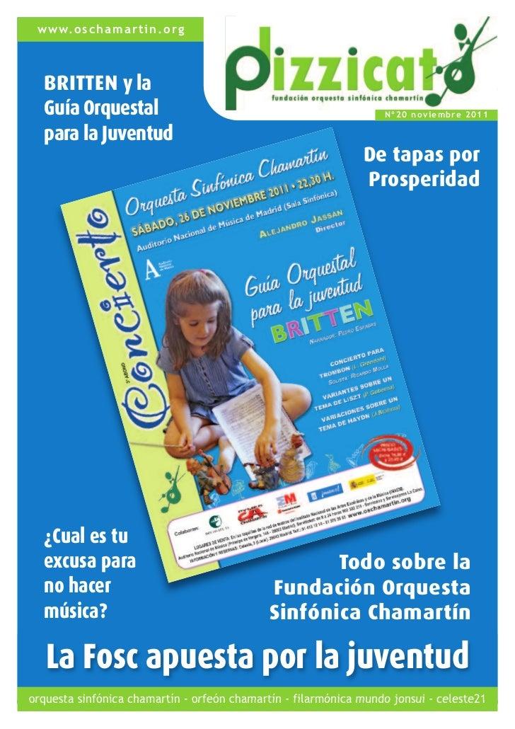 www.oschamartin.org  BRITTEN y la  Guía Orquestal                                                  Nº20 nov iembre 2011  p...