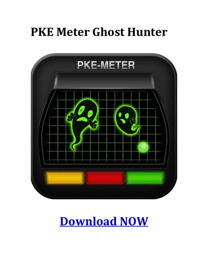 PKE Meter Ghost hunter