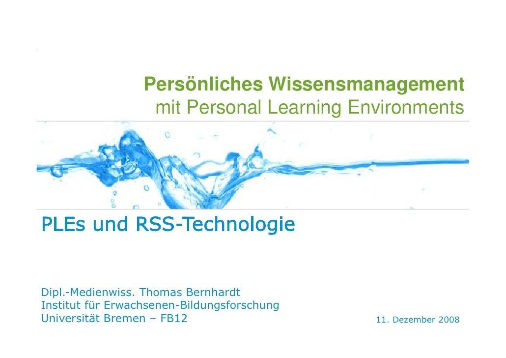 WEB 2.0   E-LEARNING 2.0   PLE   SOCIAL SOFTWARE   IBM   SEMINARVERLAUF                                                   ...
