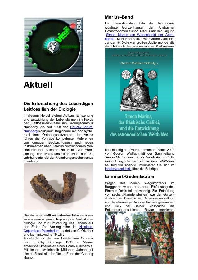 Marius-Band                                                 Im Internationalen Jahr der Astronomie                        ...