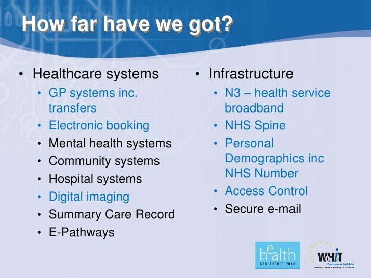 how the computer has impacted the healthcare system Healthcare technology has evolved drastically, but it's easy to forget just how far the industry has come recently enterprise and consumer technologies especially have changed a lot over the decade, getting faster and more complicated with each passing year.