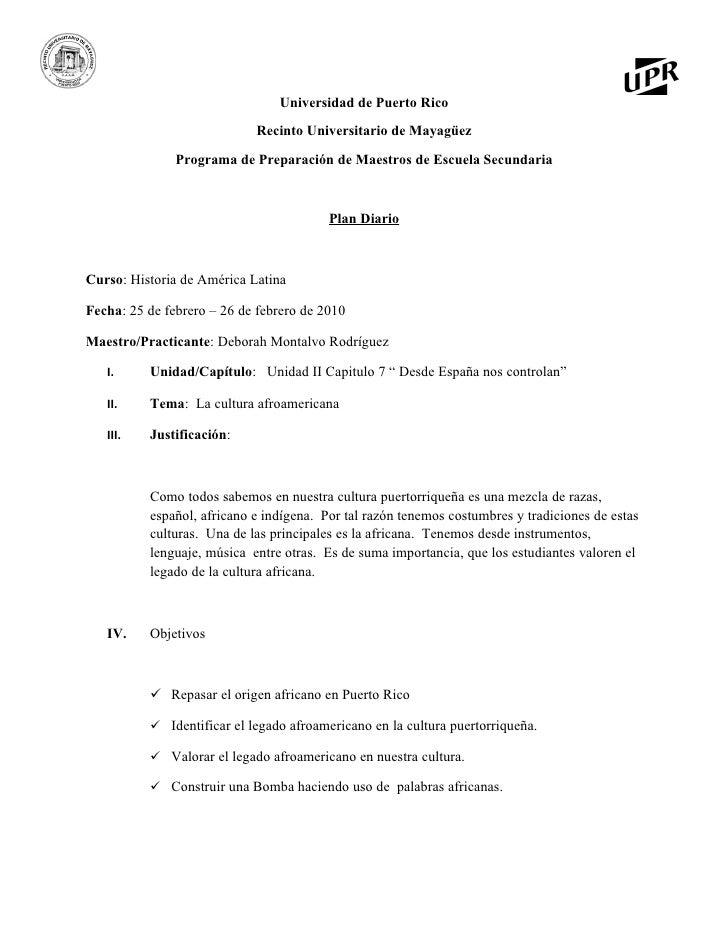 Universidad de Puerto Rico                             Recinto Universitario de Mayagüez                Programa de Prepar...
