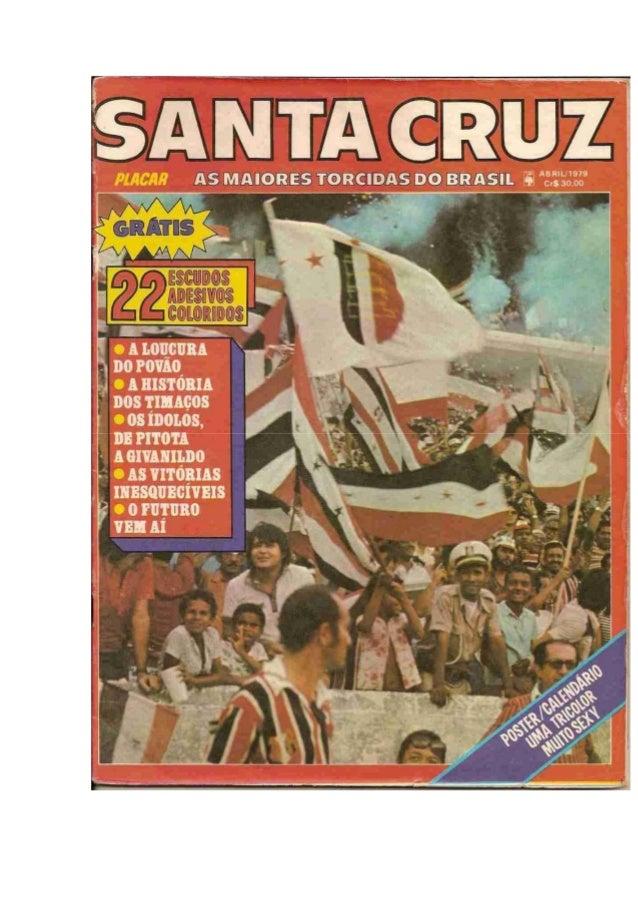 Santa Cruz - As maiores torcidas do Brasil - Revista Placar Especial (abril de 1979)