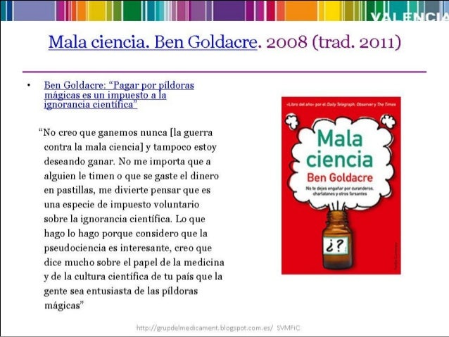 Placebo goldacre bad science