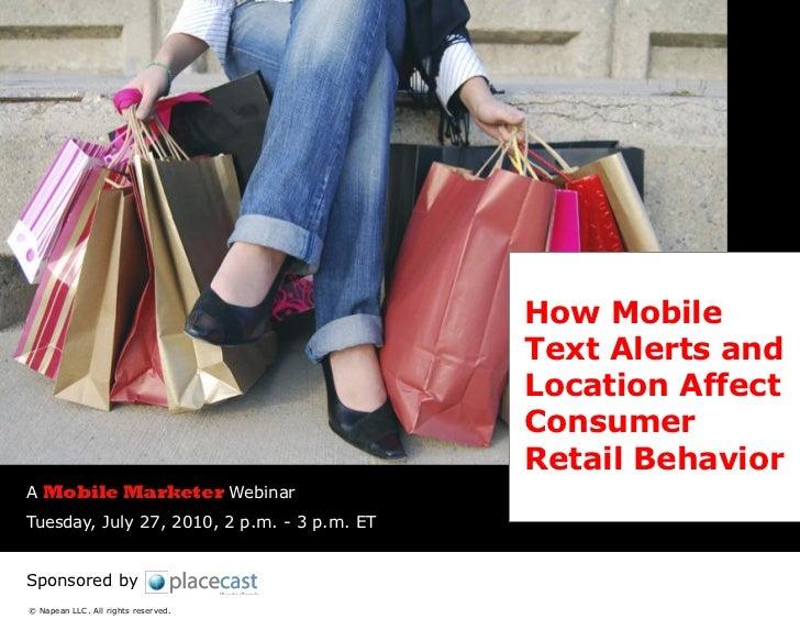 Placecast Mobile Marketer Webinar 07-27-10