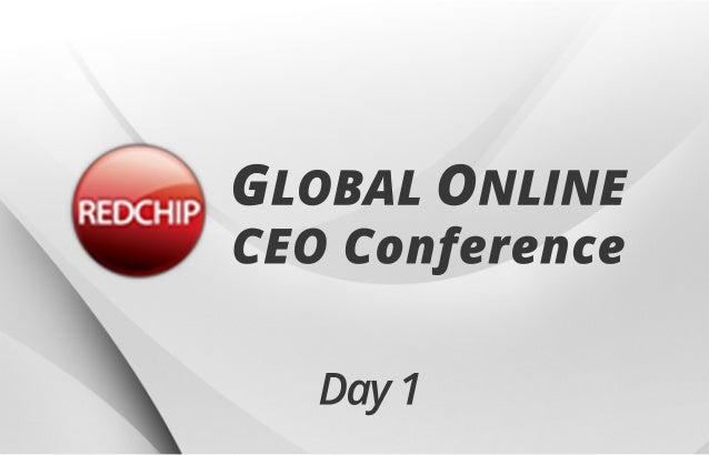 Day1 GLOBALONLINE CEOConference