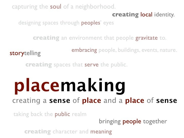 capturing the soul of a neighborhood.                                         creating local identity.    designing spaces...