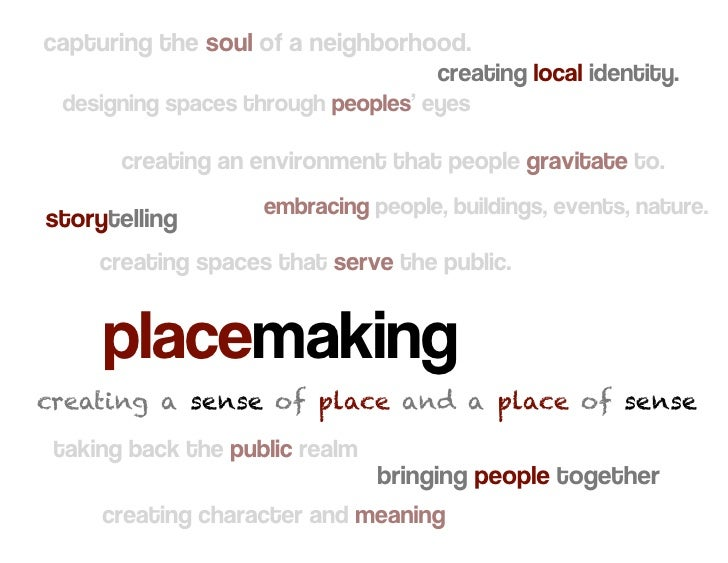 capturing the soul of a neighborhood.                                      creating local identity.  designing spaces thro...
