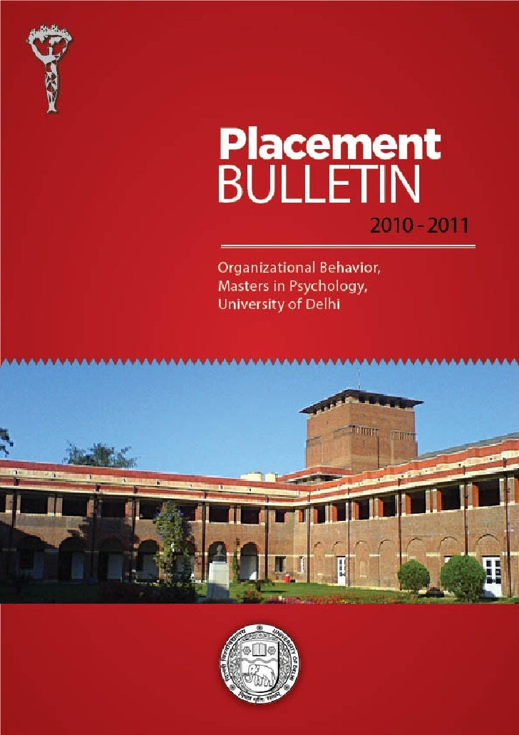 02       FROM THE HEAD OF THE DEPARTMENT'S DESK   03       VISION AND MISSION   04       UNIVERSITY OF DELHI   05       TH...
