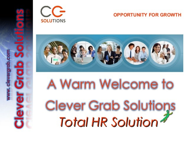OPPORTUNITY FOR GROWTHTotal HR Solution