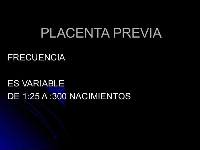 how to fix placenta previa