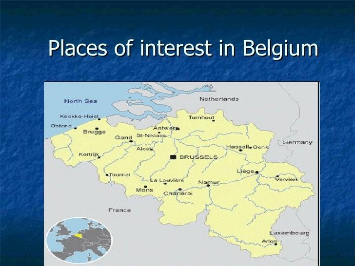 Places of interest in Belgium