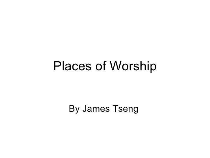 Places of Worship by James Tseng