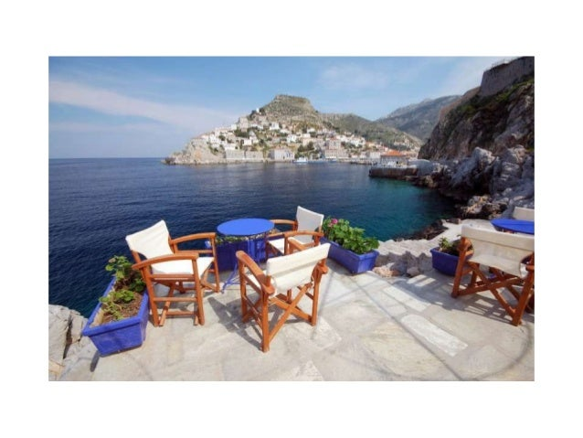 Places for coffee or ouzo in greece