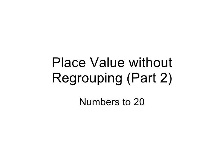 Place value without regrouping (part 2)