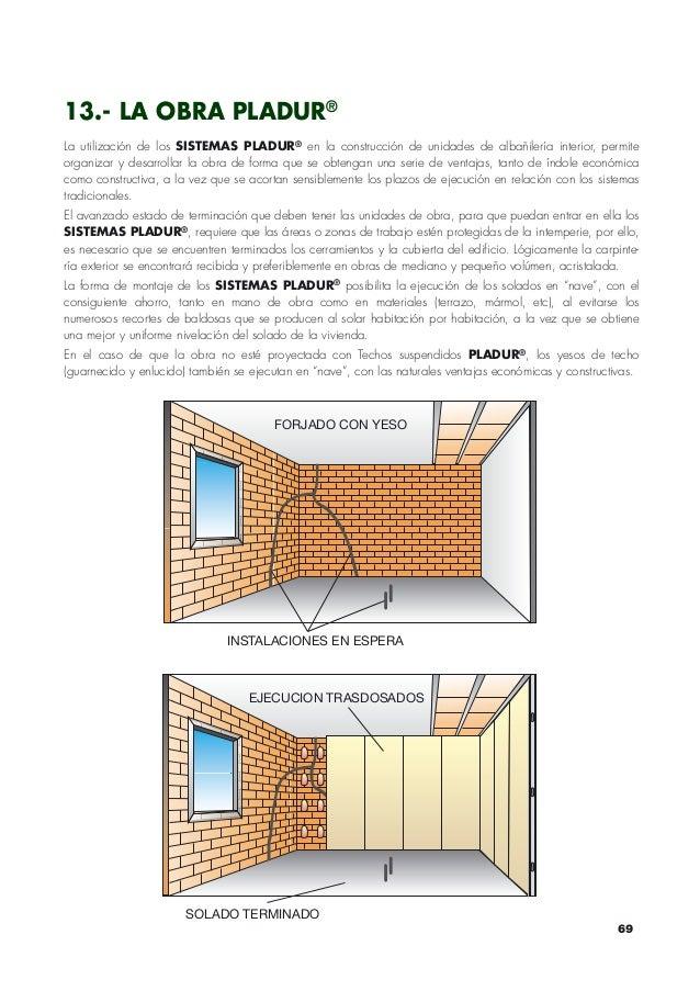 Pladur katalogoa for Precio m2 tabique pladur colocado