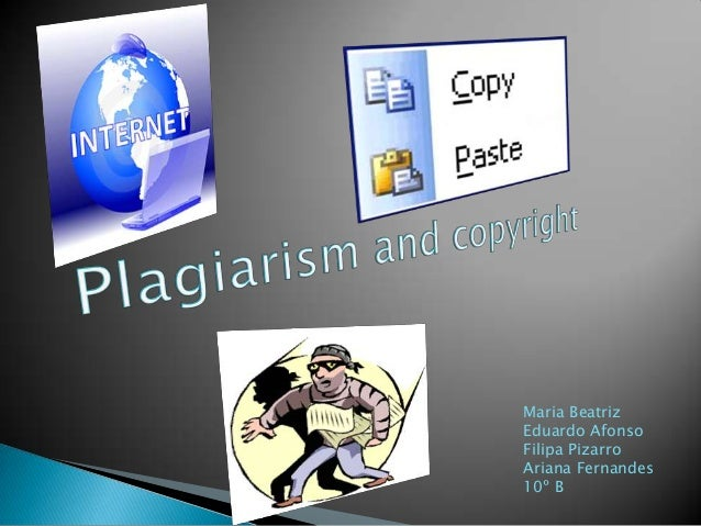 Plagiarism and copyright