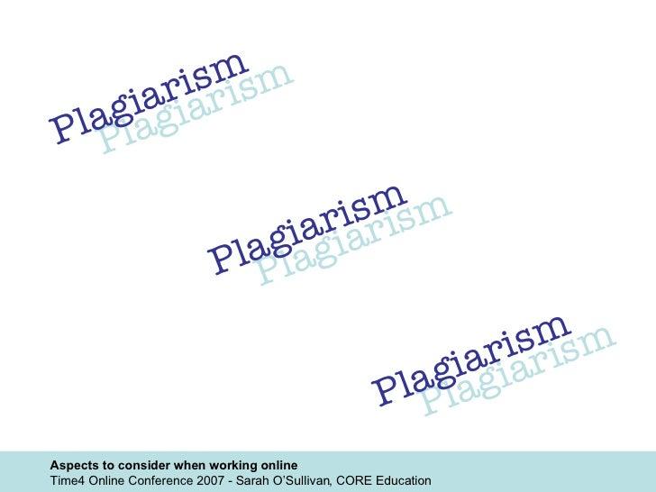 Plagiarism Plagiarism Plagiarism Plagiarism Plagiarism Plagiarism